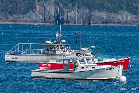Lobster Boats, Bar Harbor