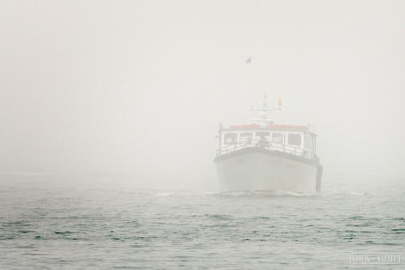 Bar Harbor Fog - Heading out