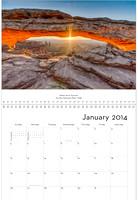 January - Mesa Arch sunrise, Utah