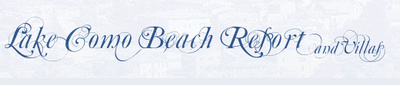 Lake Como Beach Resort