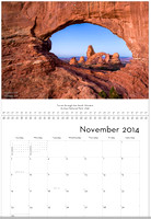 November, The North Window, Utah