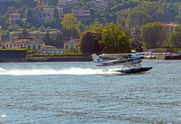 Seaplane on Lago Como