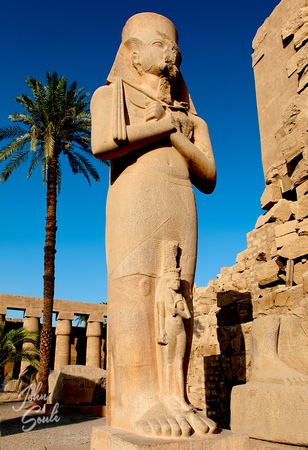 Ramesses at the Temple of Karnack Luxor