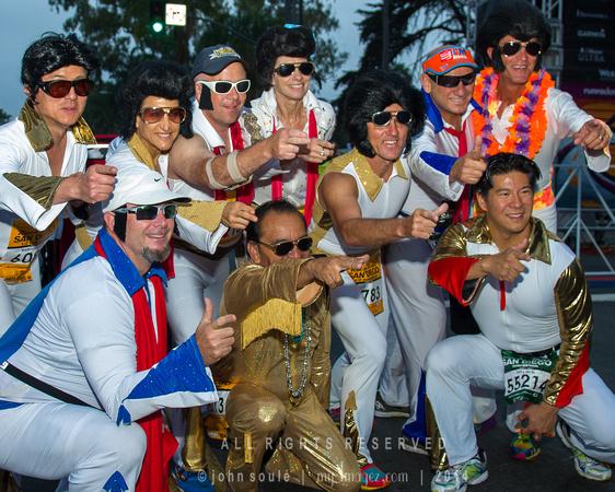 Rock n Roll Marathon San Diego - Elvis