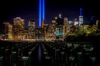 Tribute In Lights 911 New York - Pylons 2