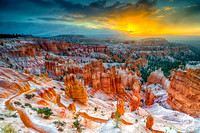 Bryce Canyon - Snowfall / Sunrise